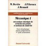 Mécanique 1 : Mécanique classique de systèmes de points et notions de relativité - Mathématiques supérieures