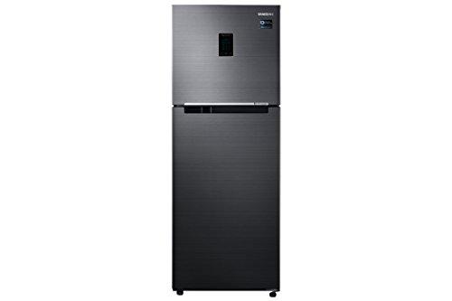 Samsung 324 L 3 Star Frost-Free Double-Door Refrigerator (RT34M5538BS/HL, Black...