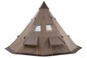 Zoom IMG-3 campfeuer tenda tipi teepee colore
