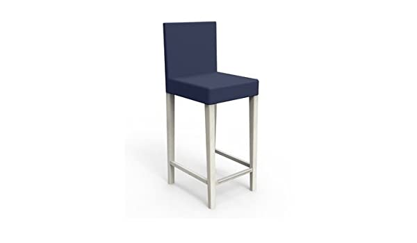 Cover for IKEA Henriksdal Bar Stool in Navy: Amazon.co.uk