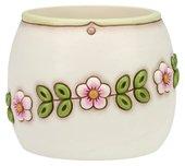 Idea Regalo - THUN Coprivaso Fiore piccolo ceramica 18 x 18 x 15 cm