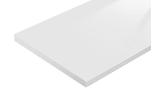 Bücherregal Raumteiler READY 44R in Weiß Seidenmatt mit Rückwand in Weiß Seid… - 3