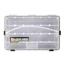 Savage Gear Lure Box 35,5 x23x5cm - Wasserdichte Angelbox, Tacklebox, Köderbox, Anglerbox, Kunstköderbox, Boxen für Gummiköder, Wobbler, Angelköder