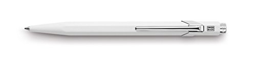 caran-dache-metal-849-stylo-a-bille-blanc-metallise