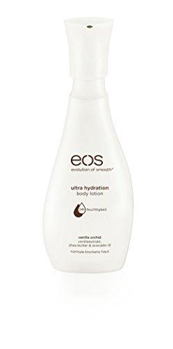 eos Body Lotion Vanilla Orchid, Hautpflege für normale & trockene Haut, feuchtigkeitsspendende Bodylotion mit Avocado-Öl, ohne Parabene, 1 x 350 ml (Mineralöl Body Ohne Lotion)