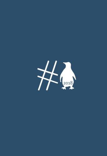 Mini Kalender 2018 - #Pinguin: ca. DIN A6