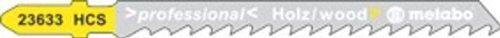 Metabo Lot de 3 lames pour scie sauteuse 75 mm/4, 623964000