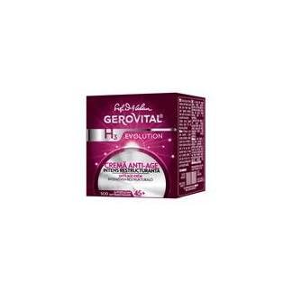 Gerovital H3 Evolution-Crema antiedad de reestructuración intensiva