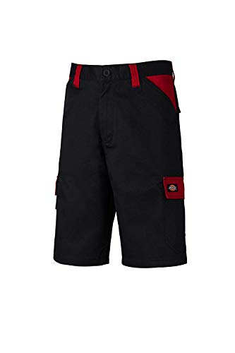 Dickies Workwear Herren Shorts Short Everyday Mehrfarbig Black/Red DE 56 (UK 40)