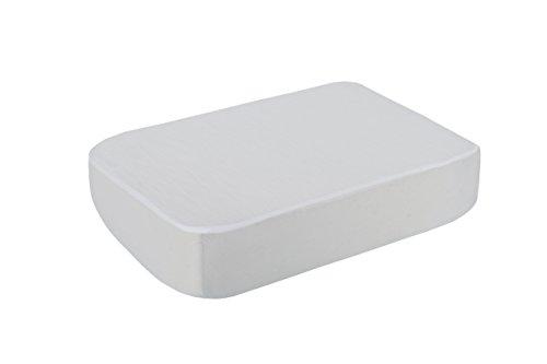BSensible Tencel Sábana bajera protectora impermeable y transpirable Blanco (Blanco) 200 x 200