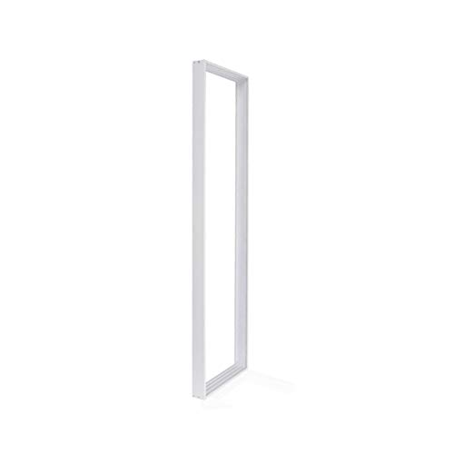 LED Panel Aufbaurahmen/Aufputz-Rahmen für Wand- und Deckenmontage, 120x30cm, Silber