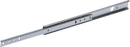 Handles Ironmongery Schubladenschienen Kugellager 17 mm 27 mm, alle Größen, 17 mm, 17mm - 350mm
