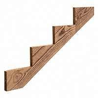 Universal Forest Prod 106070 4 Step Stair Stringer, 44.87 In. by Universal Forest Prod (Stringer Stair)