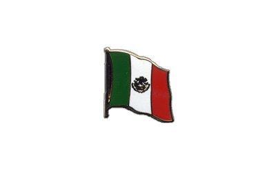 Flaggen-Pin/Anstecker Mexiko vergoldet