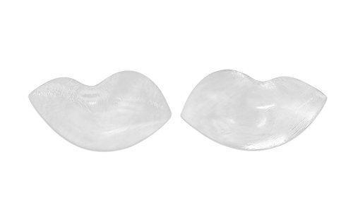 SodaCoda Silikon BH Einlagen 180g/Paar - Weiche Schmetterling Form Push-Up Brust-Einlagen für BH und Badeanzug - Transparent