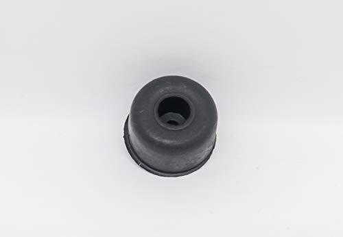 Tope multiusos fijación tornillo Ø20xH13 mm 10 unidades