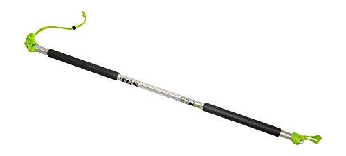 Rip Trainer Stange | Innovation aus Deutschland- 3-teilig zerlegbar | passt in jede Sporttasche | hochwertiger Stick aus Alu Vollmaterial | Made in Germany (TGS Stange 3-teilig)
