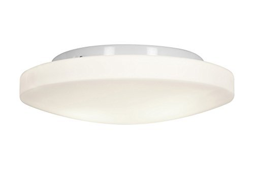 Access Lighting 50161-WH/OPL Orion Three Light 13-Inch Diameter Flush Mount with Opal Glass Shade, White Finish by Access Lighting Orion Mounts