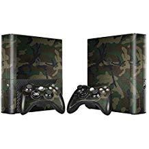 Skin für Xbox 360 E Konsole und Controller - Camo