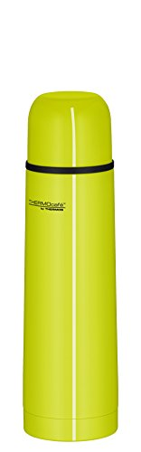 ThermoCafé by THERMOS 4058.277.050 Thermosflasche Everyday, Edelstahl Lime 0,5 l, Drehverschluss mit Trinkbecher, BPA-Free