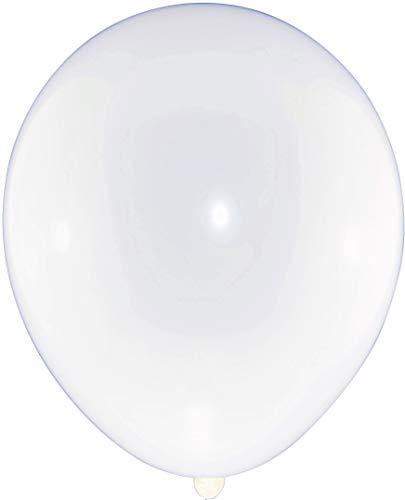 P&S events 100er XL Pack große Luftballons 30 cm Premium Markenqualität Helium Ballongas geeignet 100% Naturlatex (weiß) - Xl-pack