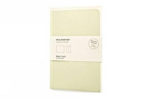 Moleskine Nachrichten Notizkarte Pocket, Kartoneinband teegrün (Note Pocket Card)