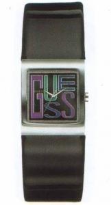 Guess W65005l1 - Reloj analógico de cuarzo para mujer con correa de piel, color negro