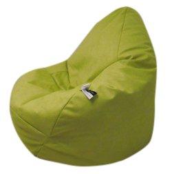 Altmark-Design Sitzsack XL- Microfaser Apfelgrün/incl. Inlett