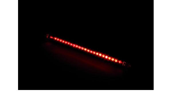 Highsider Led Rücklicht String Biegbar Selbstklebend Rot Multipurpose Ganzjährig Kunststoff Auto