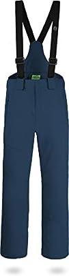 normani Outdoor Sports Herren Winter Softshellhose gefüttert mit abnehmbaren Hosenträgern und 4-Wege-Funktionsstretch [S-4XL] von normani auf Outdoor Shop