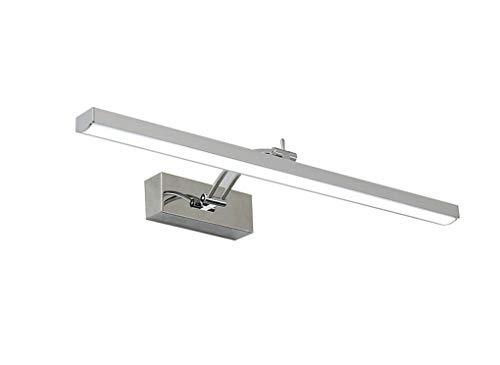 CQOZ LED-Spiegel-Frontleuchten, Badezimmer-Lichter Einfache Moderne Badezimmer-Edelstahl-Dressing-Lichter wasserdicht Anti-Fog-Spiegel-Schrank Spezielle Lichter Spiegelscheinwerfer -