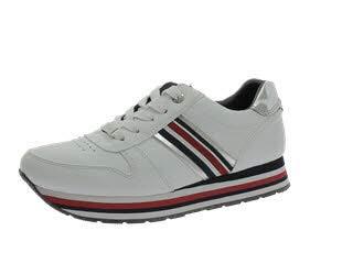 4d95067b61e TOM TAILOR Damen 6995501 Sneaker Weiß (White 00002)