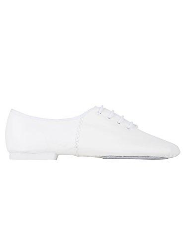 Quindi Scarpe Danca Salsa- Jazzdance - Bianco Bianco