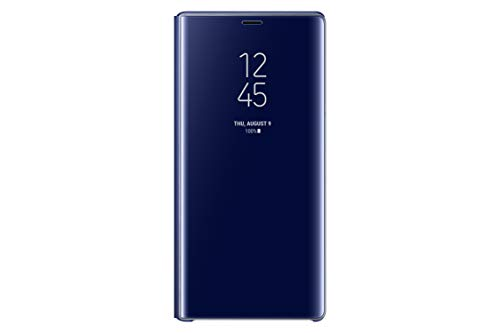Samsung Clear View Hülle 'EF-ZN960' mit Standfunktion für Galaxy Note9, Blau