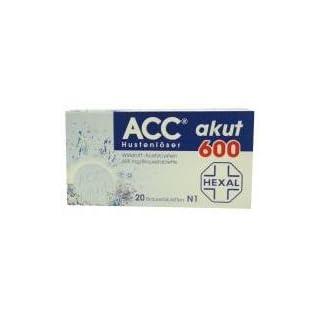 Hexal AG ACC akut 600 Brausetabl. 20 Stück