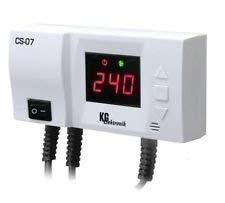 Pumpensteuerung Steuergerät SC-07 f. Umwälzpumpe m. Anti-Stop Temperaturanzeige -
