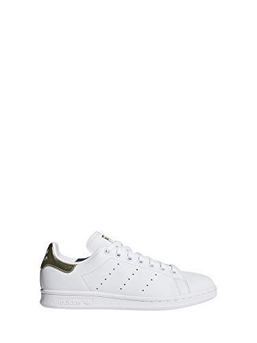 adidas Damen Stan Smith W Sneaker, Mehrfarbig FTWR White/Gold Met. Ee8836, 38 2/3 EU (Adidas Stan Smith Originals)