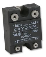 SSR, PANEL MOUNT, 530VAC, 32VDC, 90A HD4890 By CRYDOM