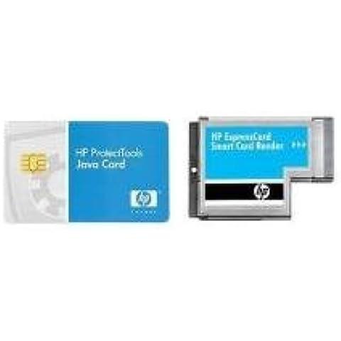 HP ExpressCard Smart Card Reader - Lector de tarjetas de memoria (ExpressCard, 280 x 25 x 230 mm, 500g, Metálico, ISO 7816 A / AB Microsoft PC/SC
