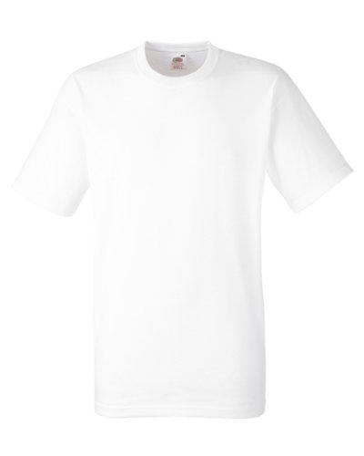 Fruit of the Loom Herren T-Shirt 5 er PackRegular Fit 11182V M,Weiß - Weiß -