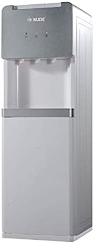 Sure Water Dispenser Top Loading, Floor/Free Standing, Hot Cold and Normal Temperature, Best For Home Kitchen
