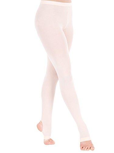 (Panegy Mädchen Ballettstrumpfhose Ballett Feinstrumpfhose Kinderstrumpfhose Leggings Tanz Strümpfe-Weiß)