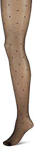 PENTI Damen Stil Fashion Tights for Ladies-Mini Dots Strumpfhose, 15 DEN, Schwarz (Black 500), X-Large (Herstellergröße: 4) - Mini Strumpfhose