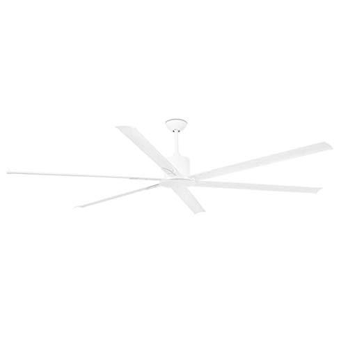 Faro - Ventilateur de plafond très grand taille blanc laqué moderne DC 215 cm FARO ANDROS 33461