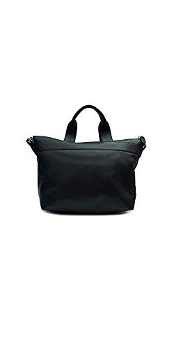 Emporio Armani Scatter Logo Shopper One Size BLACK