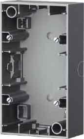 Hager 10427004 interruptor de luz Acero inoxidable - Interruptores de luz (Acero...