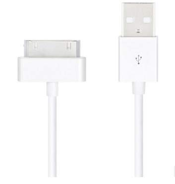 Cavo USB ricarica e dati per iPhone 44G 4S 3GS 3G iPod iPad 2caricabatterie