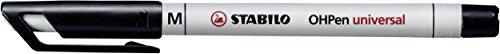Folienstift - STABILO OHPen universal - wasserlöslich medium - 10er Pack - schwarz