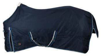 PFIFF 101899 Pferde Winter Decke Willow, Winterdecke Pferdedecke Paddockdecke, Blau 125cm