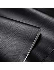 Negro con textura grano de madera papel de contacto segunda mano  Se entrega en toda España